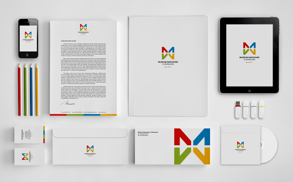 corporate identity design الهوية البصرية
